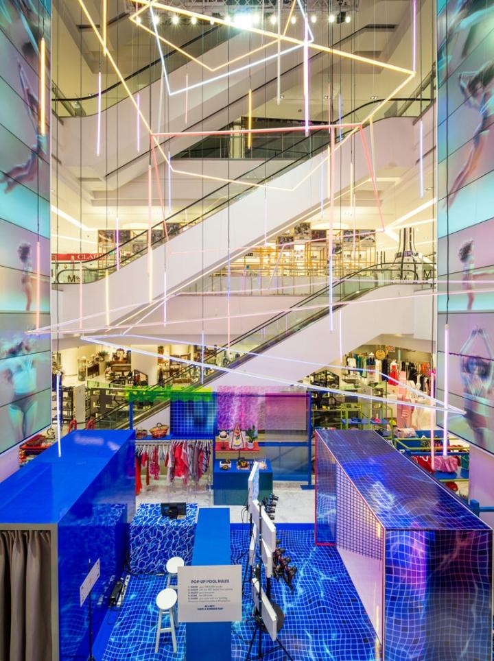 187 Emporium Department Store Summer Pop Up Campaign