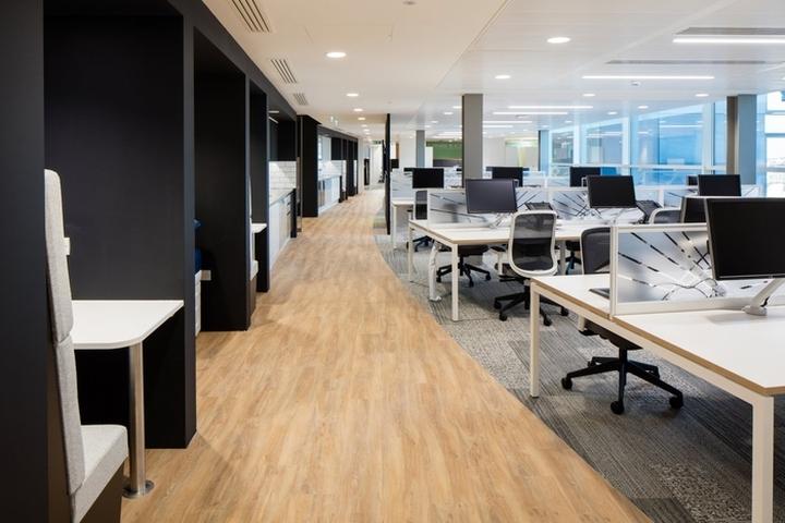 Exterion media office by office principles london uk for Office design regulations uk