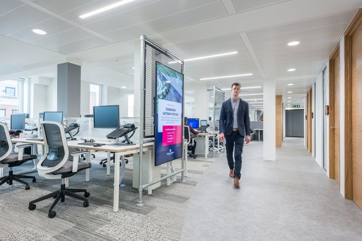 Exterion media office by office principles london uk for Office design principles