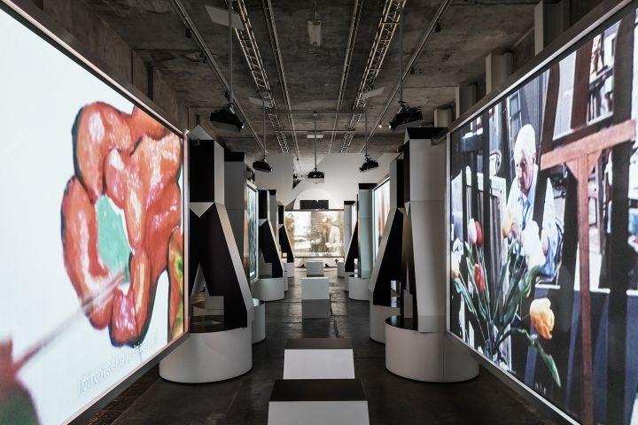 Multimedia exhibition by fondazione prada milan italy for Fondation prada milan
