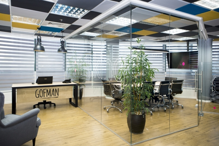 creative office ceiling. Interesting Ceiling The Space Has A Distinct Architectural Structure It Is Characterized By  Long Narrow Rectangular Space And Round Big Windows Which Dictated The Division  On Creative Office Ceiling W