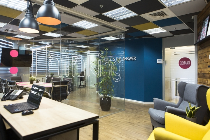 creative office partitions. Wonderful Office The Conference Room Has A Glass Walls Like Other Office Partitions And On  Every Wall Sticker With Individual Words Depending The Activity That  With Creative Office Partitions E