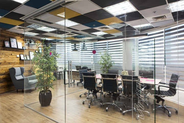 gofman creative office by dana shaked ramat gan israel retail