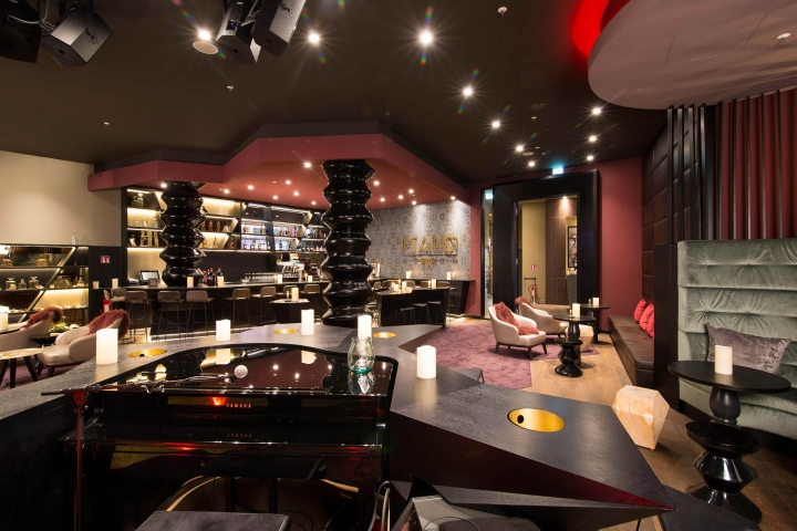 187 Gop Piano Bar By Kitzig Interior Design Architecture