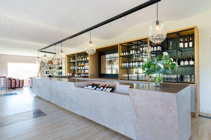Glenelly restaurant, tasting room and glass museum by Inhouse Brand