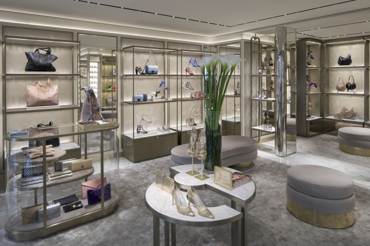 9756b2299ef Jimmy Choo Rue St Honore store by Christian Lahoude Studio
