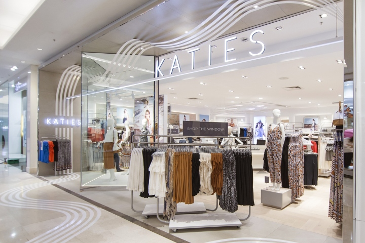 Australian Womenswear Label Katies Kicks Off Its Seventh Decade By Launching A Vibrant New Take On Fashion Retail Developed In Collaboration With London