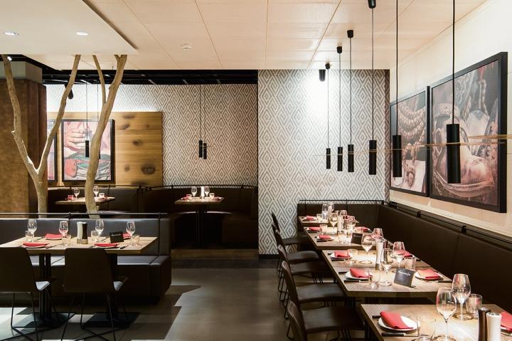 Ippolito Fleitz maredo flagship restaurant by ippolito fleitz berlin