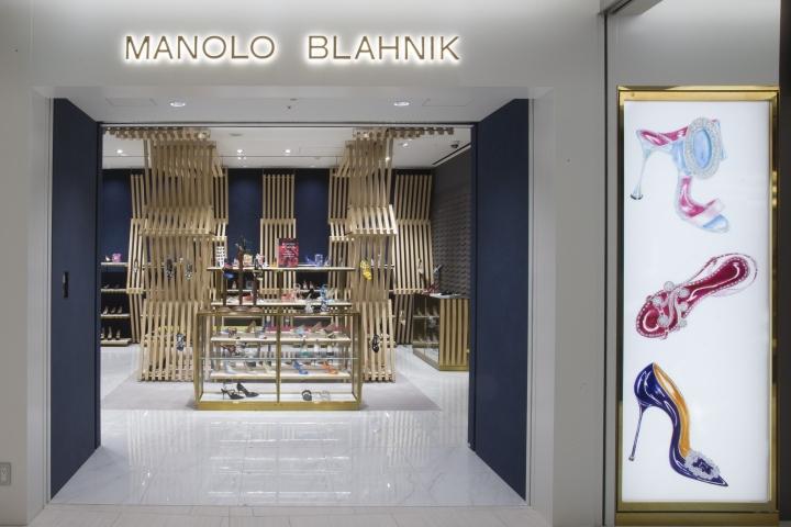 东京银座Manolo Blahnik鞋店设计