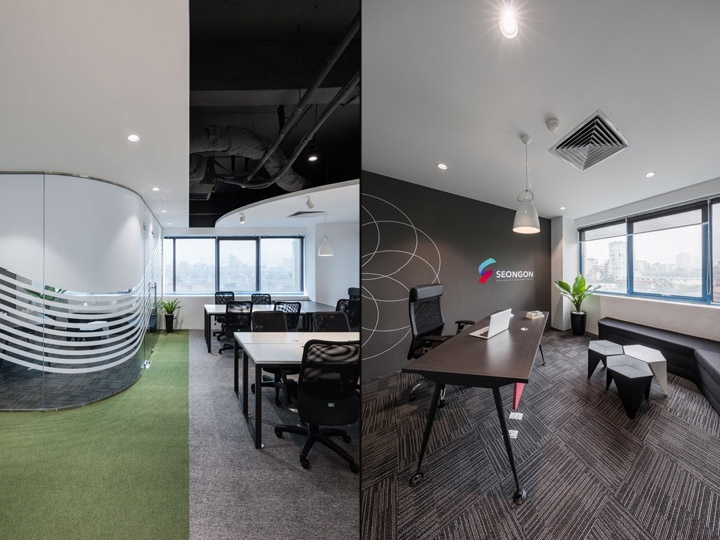 Seongon office by d studio hanoi vietnam retail for Office design vietnam