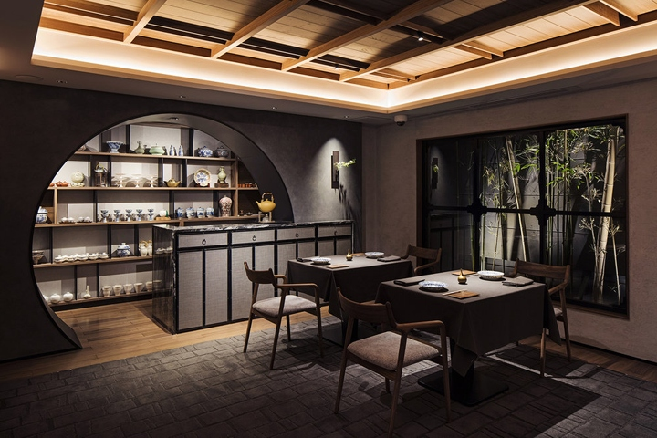 Sazenka restaurant by design studio crow tokyo japan