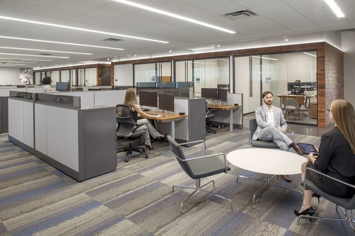 Spirit Realty Capital Office By Ia Interior Architects Dallas Texas Retail Design Blog