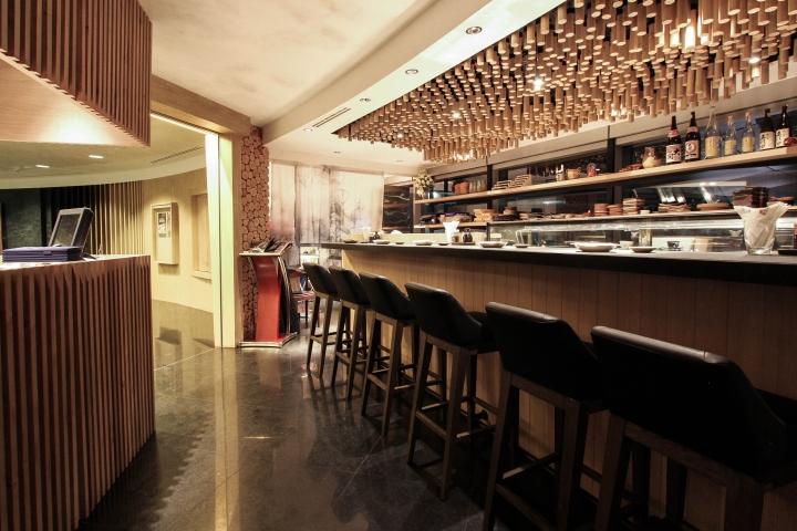 Sushi Mori By Studio POINT LINE PLANE Bangkok Thailand