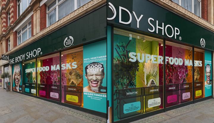 187 The Body Shop Masks Windows By Studio Xag London Uk