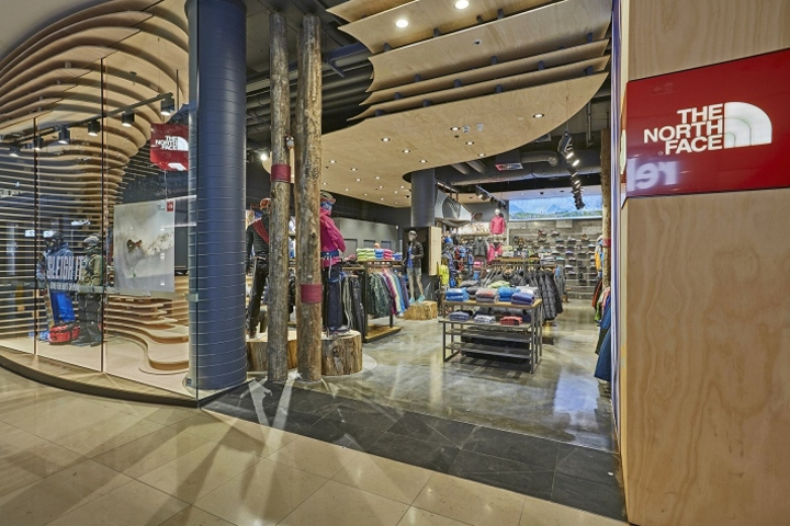 the north face chadstone store by coma melbourne australia. Black Bedroom Furniture Sets. Home Design Ideas