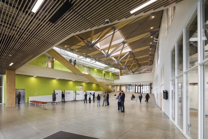University Of Massachusetts Amherst Design Building By Leers Weinzapfel Associates Amherst Ma