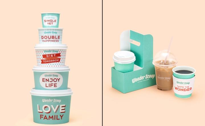 Wonder Scoop Branding By Emart 187 Retail Design Blog
