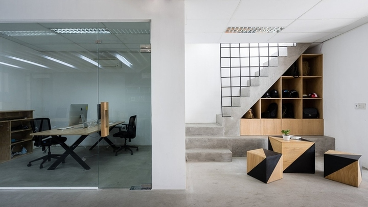 Zigvy corporation office by arch a studio ho chi minh for Office design vietnam
