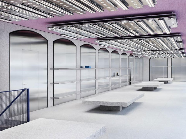 653b705a9bcb The Acne studios flagship occupies the ground floor and basement of an 18th  century building, and whose lower façade is marked by fourteen arched  windows.