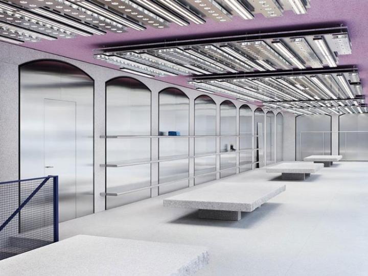 acne studios flagship store milan italy retail design. Black Bedroom Furniture Sets. Home Design Ideas