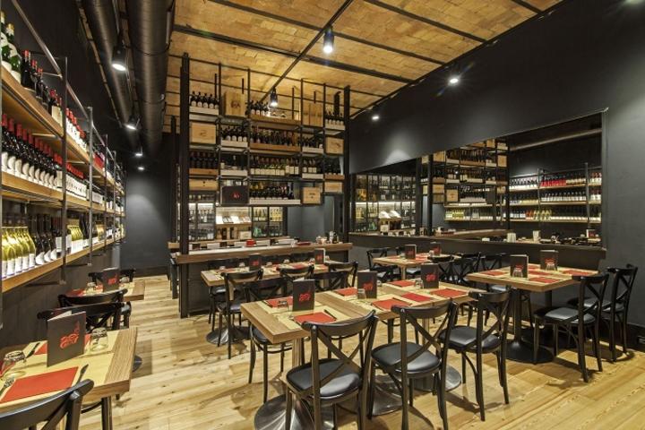 Baccanale restaurant by Afa Arredamenti, Roma – Italy » Retail ...