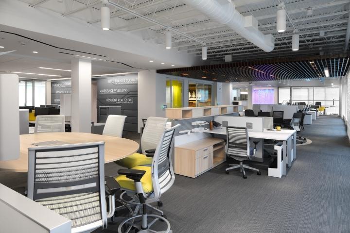 Corporate Interiors WorkLife Studio by D2 Interiors, Wayne