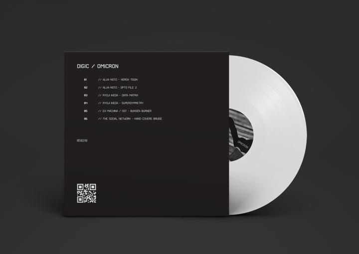 187 Digic Vinyl Album Cover By Bal 225 Zs K 233 Tyi