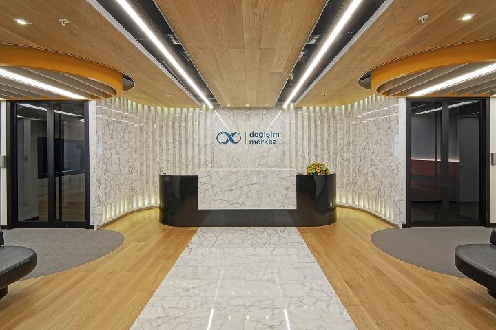 Degisim Merkezi Headquarter By OSO