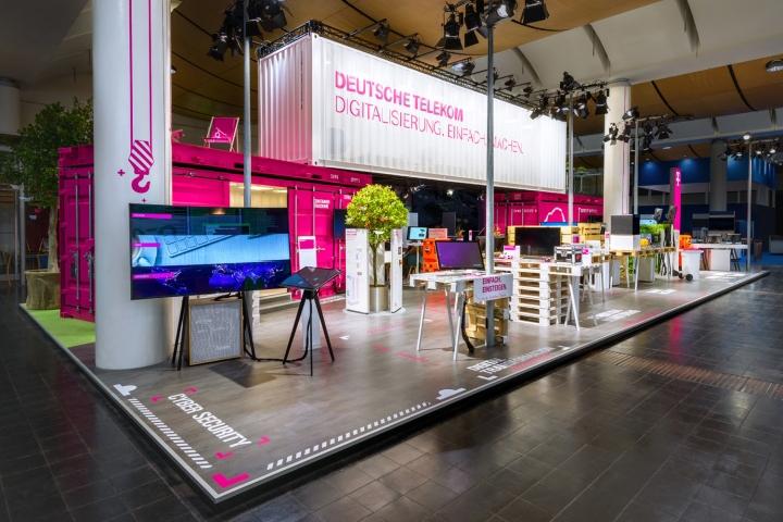 deutsche telekom at hannover messe 2016 by hartmannvonsiebenthal retail design blog. Black Bedroom Furniture Sets. Home Design Ideas