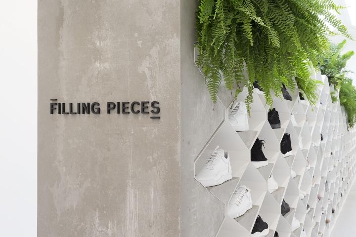 filling pieces showroom by flip ziedses des plantes at paris fashion week retail design blog. Black Bedroom Furniture Sets. Home Design Ideas