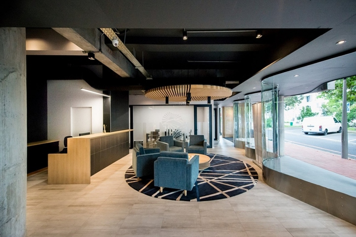 Inhouse Brand Architects Have Designed The Offices Of Investment Company GAIA Infrastructure Partners Located In Cape Town South Africa