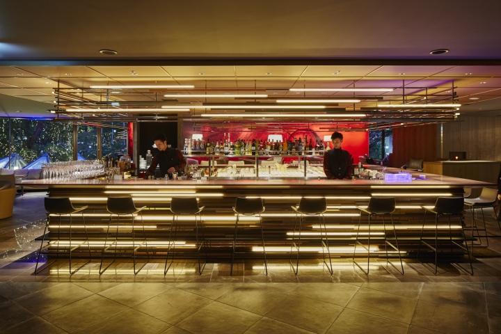 Hilton tokyo tsunohazu restaurant by nao taniyama