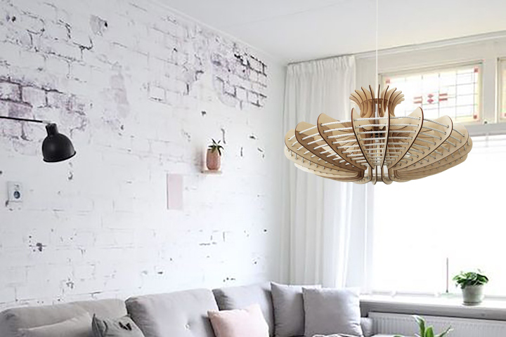 This Unique Design Pendant Lamp Can Be A Perfect Addition And An Beautiful Piece For The Bedroom Dining Room Living