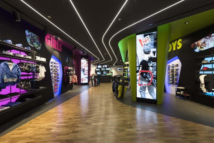 The New Chain Of Sportswear Shops Catering For Youngsters Aged Between Four And Fourteen Opens Its First Store At Brand Adigeo Shopping Centre
