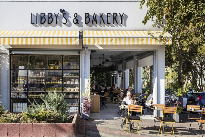 Libby S Bakery A 140 Sqm Bistro Combined With And Gelateria Ice Cream In Quiet Tel Aviv Neighborhood It Located Small Commercial