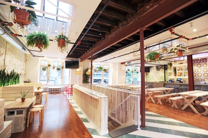 Mission Taqueria Restaurant By Chrysalis Studio