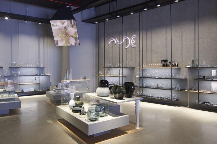 伊斯坦布尔Nude玻璃制品展厅设计