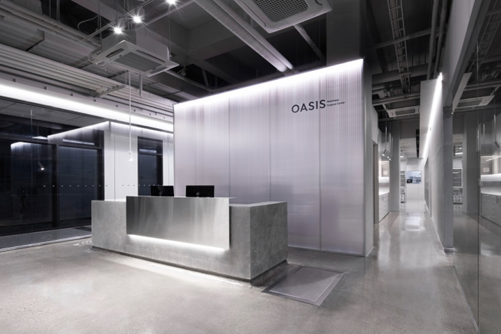 Oasis veterinary surgical center by betwin space design for Commercial space design