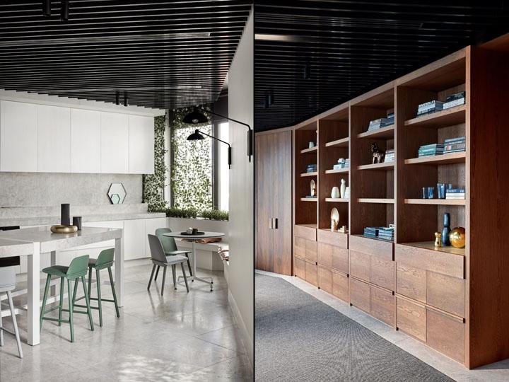 Pdg offices by studio tate melbourne australia retail for Melbourne design studios