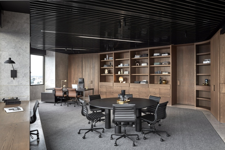 Pdg offices by studio tate melbourne australia retail for Office interiors melbourne