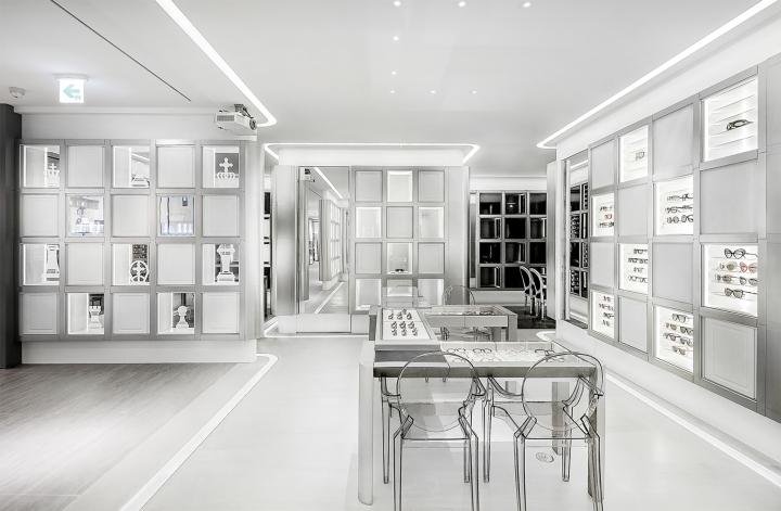 韩国首尔Papyrus 眼镜店设计