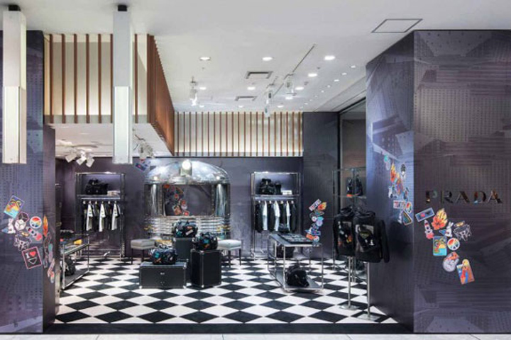 Prada Pop Up Store Tokyo Japan Retail Design Blog