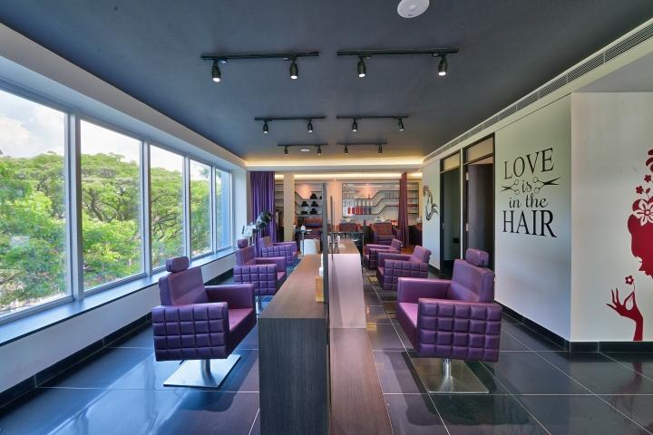S4 spa salon by pristine design studio bangalore india for Studio interior design brescia