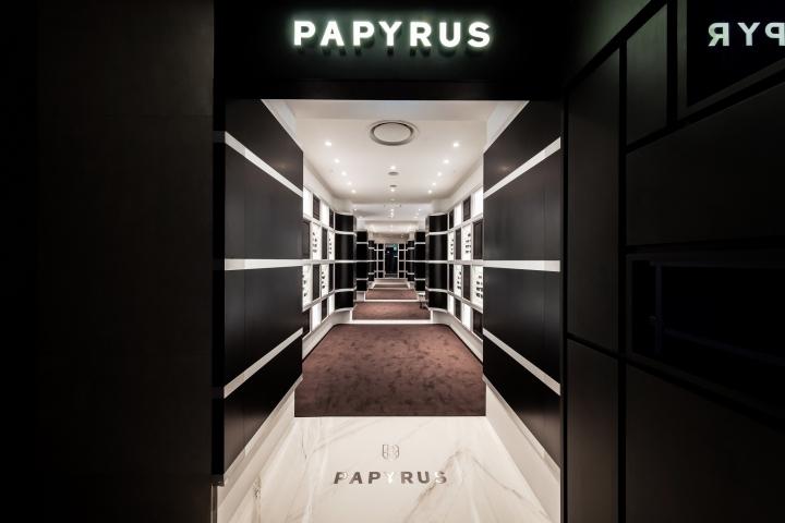 Salon de papyrus by atelier archi mosphere seoul u south korea