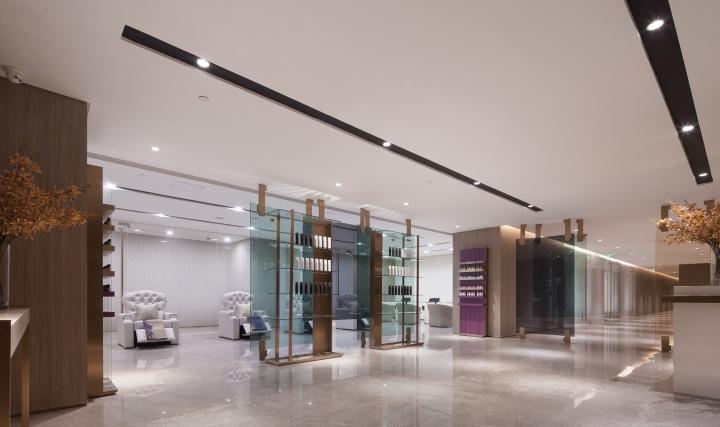 Savour Salon By Co Direction Interior Design Da Ling Shan China