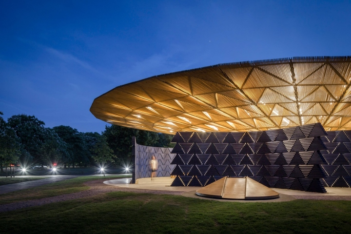 187 Serpentine Pavilion By Di 233 B 233 Do Francis K 233 R 233 Burkina Faso