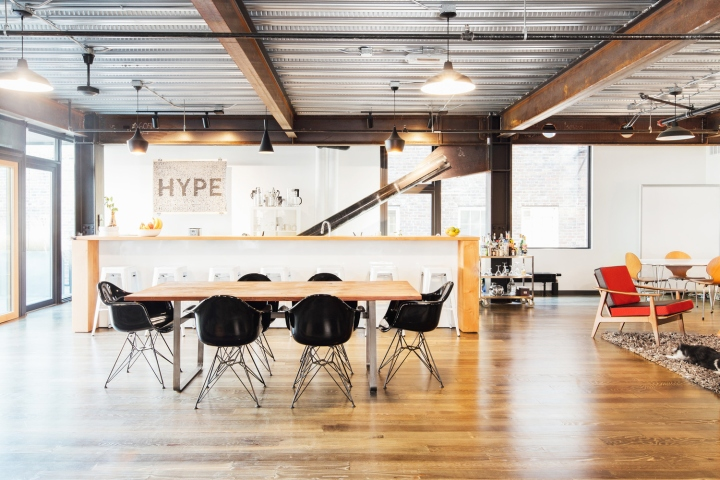 In Addition To Workstations The Office Includes Two Conference Spaces One Essentially A Part Of Larger And Another Private Option