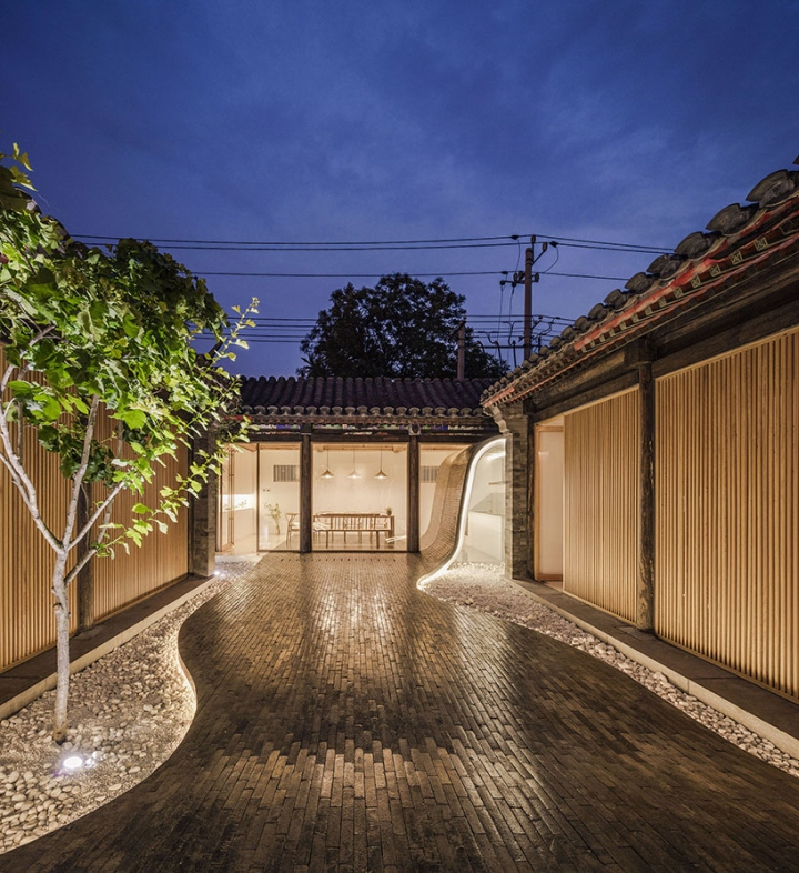 Twisting Courtyard By Archstudio Beijing China