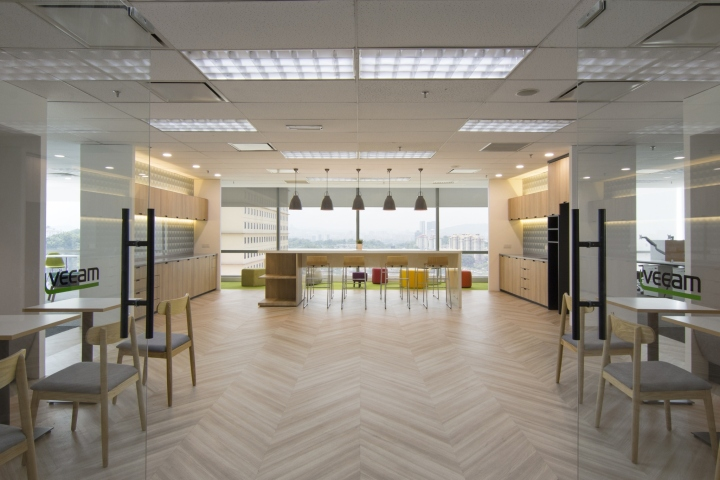 Veeam software office by raw design consultants kuala for Office design kuala lumpur