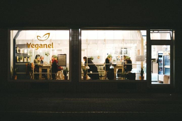 Mobilia Nürnberg veganel restaurant by neoos design nürnberg germany retail